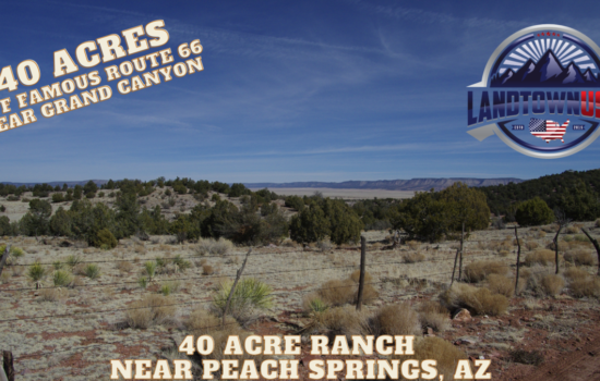 40 Acre Ranch off Route 66 just South of Peach Springs, AZ